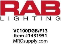 (RAB Lighting Vaporproof CFL Outdoor Close to Ceiling Light)
