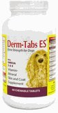 Derm Tabs ES Extra Strength for DOGS (60 Tabs), My Pet Supplies