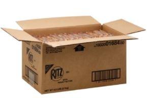 Nabisco Ritz Toasted Peanut Butter Sandwich Crackers, 0.93oz., 120 per case