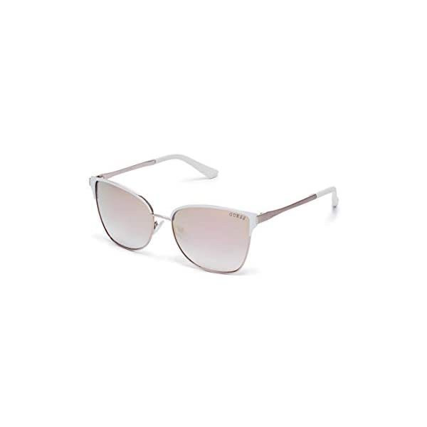 GUESS Factory Mirrored Retro Sunglasses