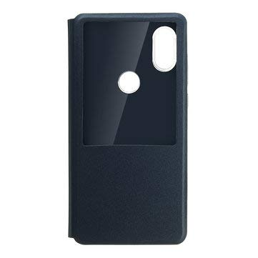Smart Window PU leather Flip Protective Case For MIX 2S - Cases Covers Mi Mix Series Cases - - Blue Washington Mix
