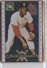 (Bob Gibson (Baseball Card) 1993 Metallic Impressions Cooperstown Collection - Collector's Tin [Base] #10)