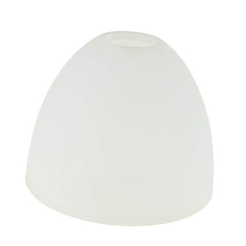 DYNWAVE Beautiful White Frosted Glass Replacement Light Shades #03
