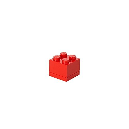 Lego 4011 Mini 4 plots, insert pour repas, boîte snacking, rouge