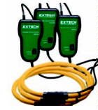 Extech PQ3210 1200A Flexible Current Clamp Probes, Fits with PQ3350 3-Phase Power and Harmonics Analyzer, Set of 1200 Amp flex clamps (set of 3), 12