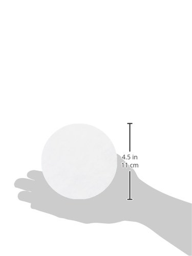 Whatman 4712B30PK 1001110 Grade 1 Qualitative Filter Paper, 110 mm Thick and Max Volume 571 ml/m (Pack of 100) by Whatman (Image #2)'