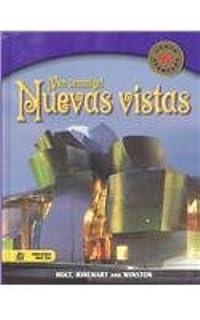 Holt Nuevas Vistas: Student Edition Course 2 2003