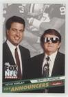 Jerry Glanville; Kevin Harlan (Football Card) 1995 Skybox Impact - Fox Announcers #4