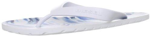 Diesel , Chaussons pour homme multicouleur White/Royal Blue 44 EU