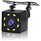 BESTREE Car Backup Rear View Camera 8 led High HD Night Vision IP67 Waterproof 170 Degree Viewing Angle Parking Camera