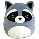 Squishmallows Kellytoy 16'' Raccoon Super Soft Plush Toy Pillow Animal Pet Pal Buddy (Grey Raccoon) by Squishmallows (Image #1)