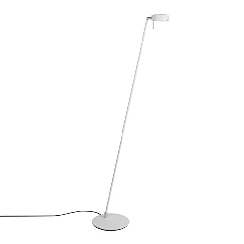 Mawa Design Pure 2 Stehleuchte, weiß (RAL 9016) matt Kopf um 360 ...