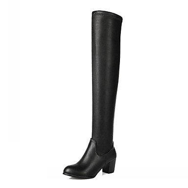 Winter 5 Evening Platform RTRY 5 Dress Patent Office Fall Women'S US10 Boots UK8 Party Casual Wedding amp;Amp; EU42 Career Comfort Leatherette CN43 amp;Amp; Leather Novelty Spring HIH1q