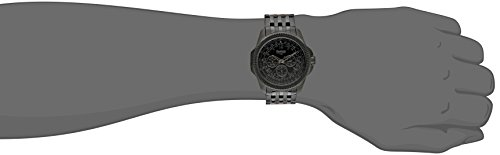 Buy armitron black ion plated bracelet watch