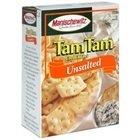 Manischewitz Unsalted Tam Tams Snack Crackers, 9.6 oz