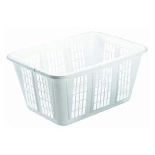Laundry basket plastic do it yourselfore rubbermaid laundry basket 16 bushel white fg296585wht solutioingenieria Image collections