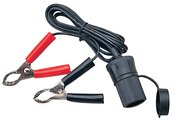 SEADOG POWER SOCKET W/ BATTERY CLIP 6' Cord