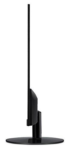 Acer SA240Ybid Monitor da 23.8″, Display IPS Panel, Formato 16:9, Risoluzione 1920 x 1080, Luminosità 250 cd/m2, Tempo di Risposta 4 ms, Input: VGA + DVI (w/HDCP) + HDMI (1.4), Nero
