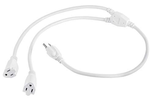 Top 10 best power cord splitter white