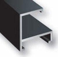 Nielsen Metal Frame Kit Accents Black 24In