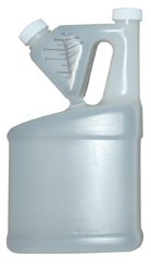 Tip-N-Measure Container, Half Gallon Size (64oz.), Up to 4oz. Measuring Capacity
