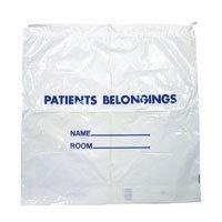 Mist Bag (Dukal DSPB01C Dawn Mist Drawstring Patient Belonging Bag, 1.4 mil Thick, 20