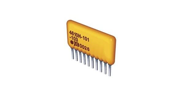 Bussed Rest 330 Ohms Bourns 4609X-101-331LF Resistor 1.13W@70DegC 2/% 100V Thkfilm Conf SIP 10 pieces