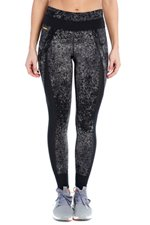 Lole Women's Burst Legging Black Pointillism Pants