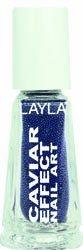 Layla Caviar Effect Nail Polish, Two Step, 1.9 Ounce by Layla