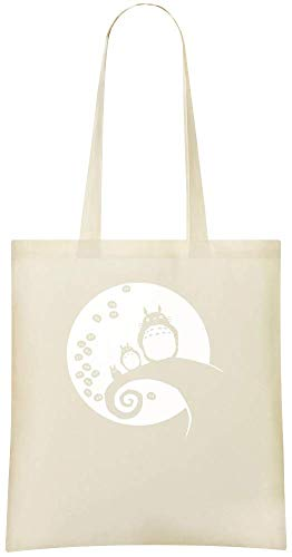 Totoro Stylish Custom Handbag For Printed Everyday Use Eco Bag Friendly Cotton Totoro Tote Bags Grocery amp; Soot 100 Soft Shoulder Custom Suie 6a6Zr