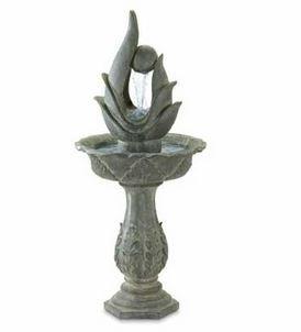 Fiberglass Resin Sculpture (SKB Family Garden Art Water Fountain Outdoor Patio Sculpture Decor New Abstract Fiberglass Resin)