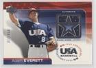 Adam Everett #377/850 (Baseball Card) 2004 Upper Deck USA Baseball 25-Year Anniversary - Jerseys #GU-AE