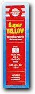 Versachem Yellow Weatherstrip Adhesive, 5 oz. box (Yellow Weatherstrip Adhesive)