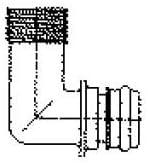 Flojet 20381-008 Quad Port Fitting Quantity 6