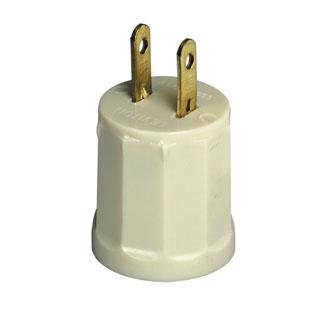 Leviton Ivory Socket Outlet Adapter