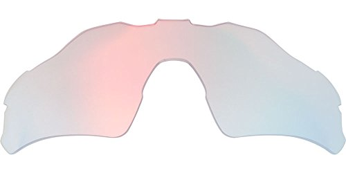 Zero Replacement Lenses For Oakley Radar EV Path Asian Fit Sunglasses Ruby - Fit Brands Sunglasses Asian