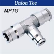 Union Tee Reducer 1//4 Tube X 1//8 Tube