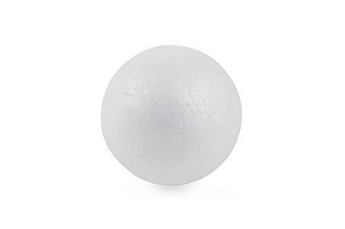 Bianco Galileo Casa 2420200 Decoupage Palla Xmas 12.5 cm Polistirolo Taglia Unica