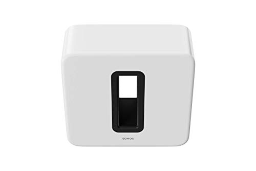 Sonos Sub - The Wireless Subwoofer for Deep Bass - White ()