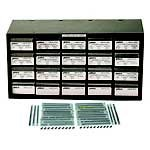 Jameco Valuepro LINEAR SERIES KIT Linear Series Component Cabinet Kit, 480 piece, 6.0'' L x 15.0'' W x 7.9'' H
