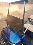 TINTED Windshield for EZGO TXT Golf Cart 1995 & Up