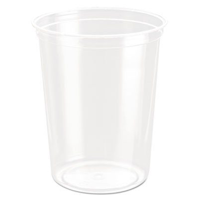 Solo Cup Company - Bare Eco-Forward Rpet Deli Containers, 32 Oz, Clear, 50/Pack, 10/Carton