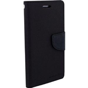 wholesale dealer cc913 b1326 SDO Luxury Mercury Diary Wallet Style Flip Cover Case for Moto G Turbo  Edition - Black