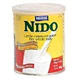 Nestle Nido Instant Milk Powder Mexico 1600g (3.5 Pounds) - Case of 6