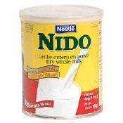 Nestle Nido Instant Milk Powder Mexico 1600g (3.5 Pounds) - Case of 6 by Nestle