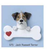 Jack Russell Terrier Personalized - Ornament Russell Jack