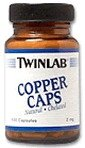 TwinLab – Copper Caps, 2 mg, 100 capsules, Health Care Stuffs