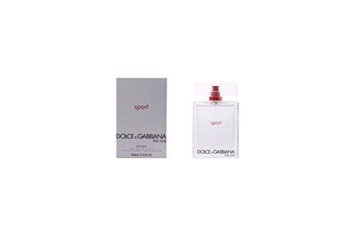 Dolce Gabbana The One Sport Eau De Toilette Spray for Men, 3.3 Ounce