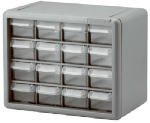 Akro Mils #10716 16 Drawer Cabinet