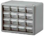 Akro Mils #10716 16 Drawer Cabinet
